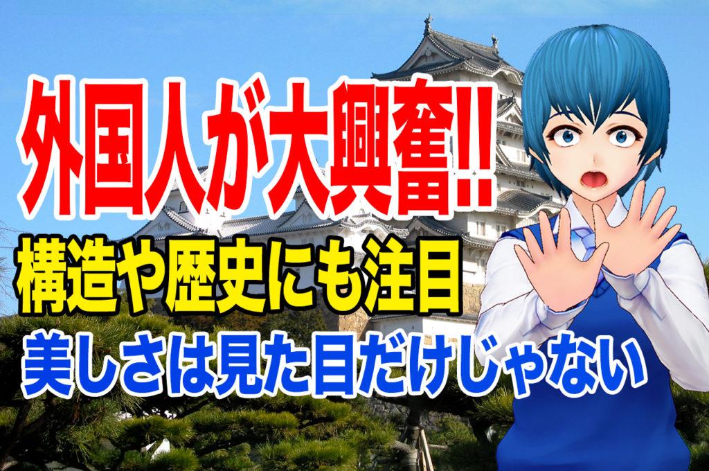日本の城に外国人が大興奮